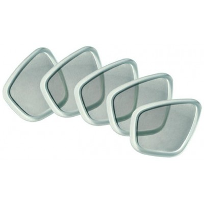 Corrective lens for optic masks -1 to -8